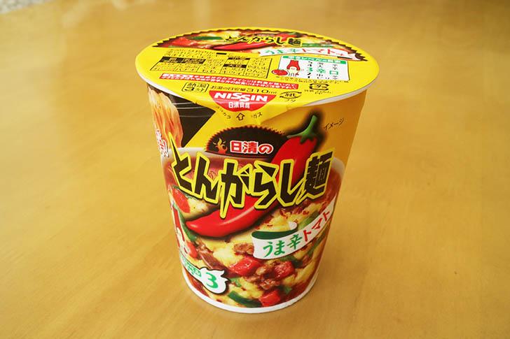 とんがらし麺 うま辛トマト