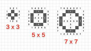 3x3 5x5 7x5