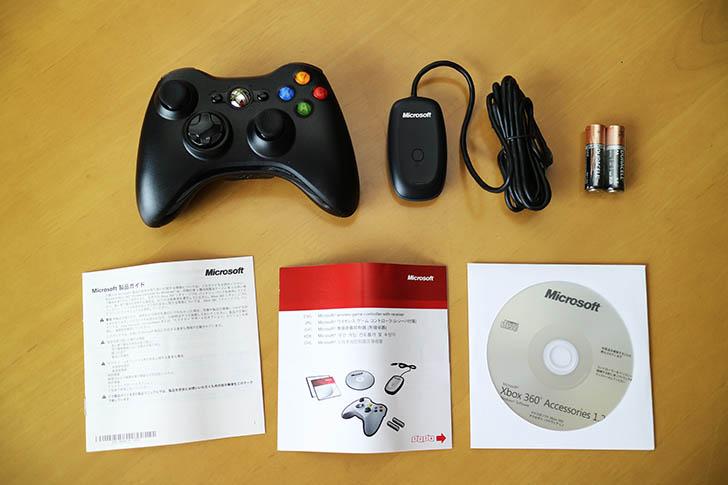 Xbox360ワイヤレスコントローラー中身
