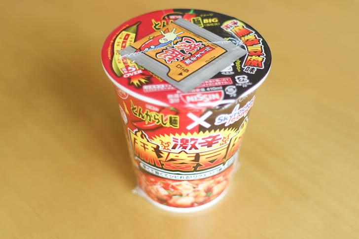 とんがらし麺麻婆豆腐